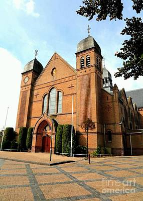 Photograph - Dutch Church - Bladel by Carol Groenen