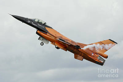 Studio Grafika Patterns Rights Managed Images - Dutch F16 Royalty-Free Image by Airpower Art