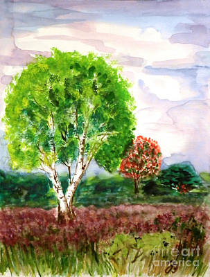 Painting - Dutch Heath by Jutta B