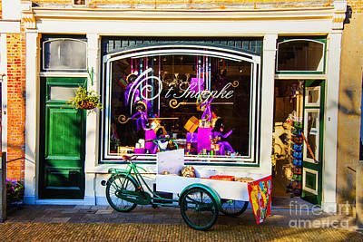 Photograph - Dutch Morning Shop by Rick Bragan