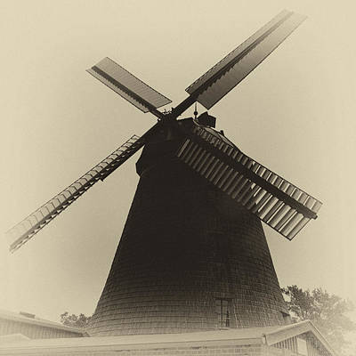 Photograph - Dutch Windmill by Andreas Levi