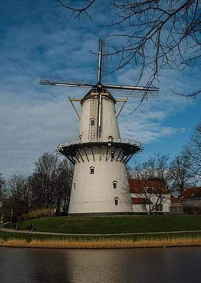 Photograph - Dutch Windmill by Marinus Ortelee