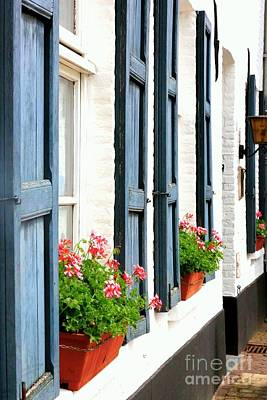 Photograph - Dutch Window Boxes by Carol Groenen