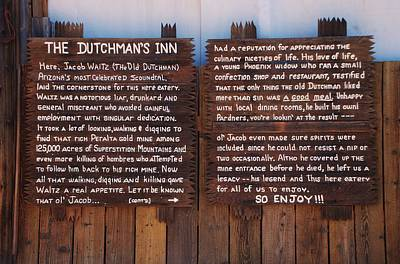 Photograph - Dutchman's Inn by Dany Lison