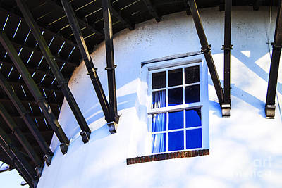 Photograph - Dutch Windmill Window by Rick Bragan