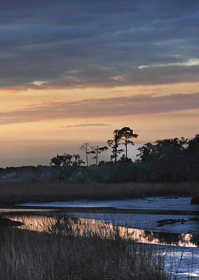 Dutton Island At Dusk Original by Phyllis Peterson