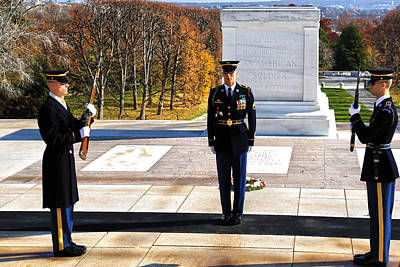 Changing Of The Guard Photograph - Duty by Mitch Cat