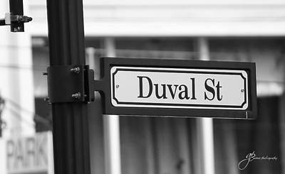 Photograph - Duval Street by William Arenas