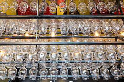 Photograph - Duvel Glasses by Paul Indigo
