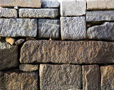 Photograph - Duxbury Granite by Charles Harden