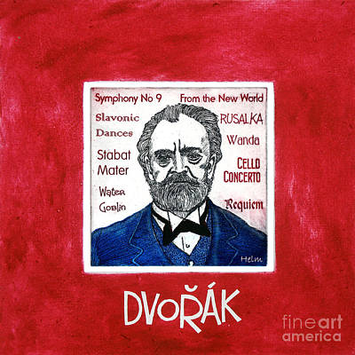 Classical Mixed Media - Dvorak by Paul Helm