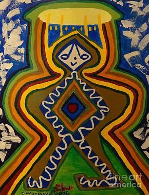 Self-portrait Mixed Media - dWarawa Self Portrait 2006 by Douglas W Warawa