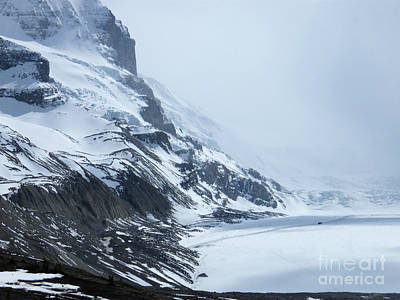Photograph - Athabasca Glacier by Phil Banks