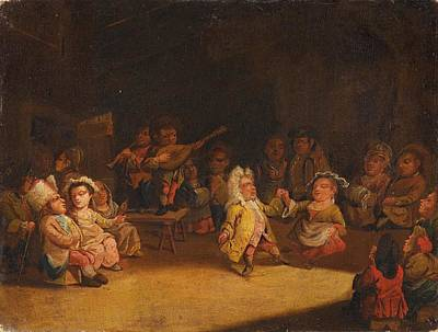 Dwarfs In A Tavern Art Print by Celestial Images