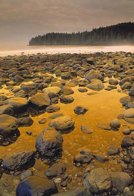 China Beach Photograph - D.wiggett Rocks On Beach, China Beach by First Light