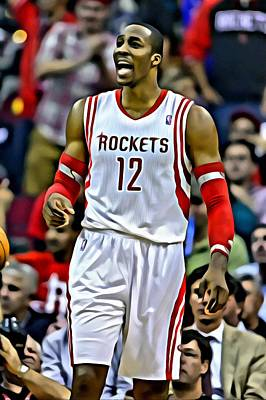 Dwight Howard Photograph - Dwight Howard by Florian Rodarte