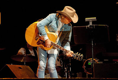 Photograph - Dwight Yoakam - A Thousand Miles From Nowhere by John Black