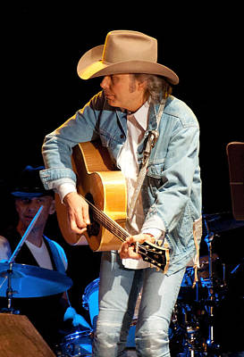 Photograph - Dwight Yoakam - Streets Of Bakersfield by John Black