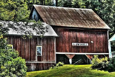 Photograph - Dwinell's Barn by John Nielsen