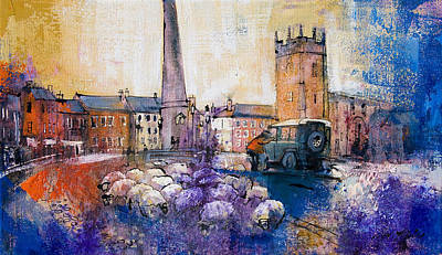 Uk Painting - Dyed In The Wool by Neil McBride