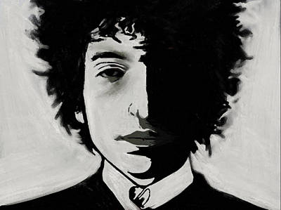 Painting - Dylan by Jeff DOttavio