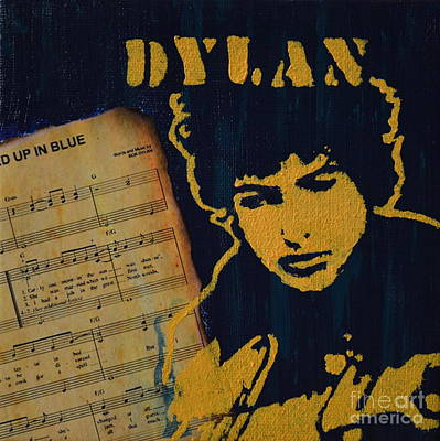 Spray Paint Painting - Dylan by Laura Toth