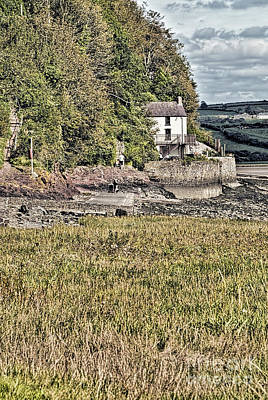 Photograph - Dylan Thomas Boathouse At Laugharne 2 by Steve Purnell