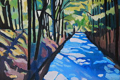 Painting - Dylan's Path by Emma Cownie