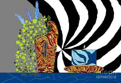 Digital Art - Dynamic Decor by Lewanda Laboy