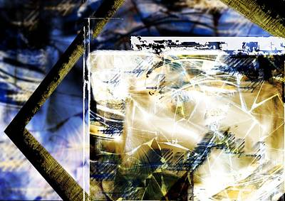 Digital Art - Dynamic Frame by Art Di