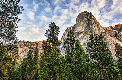 Ledge Photograph - Dynamic Yosemite National Park - California by Gregory Ballos