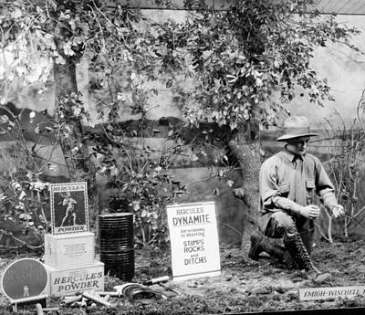 Window Displays Photograph - Dynamite Window Display by Underwood Archives