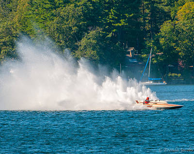 Photograph - Dynasty At The Wolfeboro Vintage Regatta by Brenda Jacobs