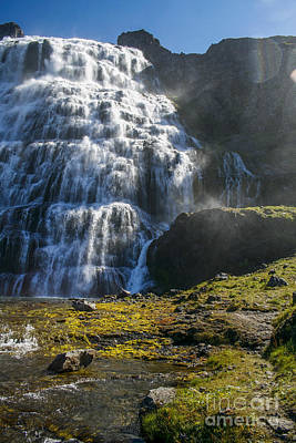 Photograph - Dynjandi Waterfall by Patricia Hofmeester