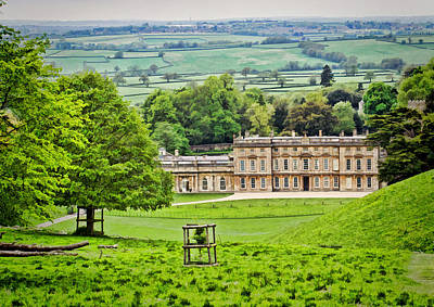 Photograph - Dyrham Park House 01 by Paul Gulliver