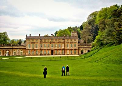 Photograph - Dyrham Park House by Paul Gulliver
