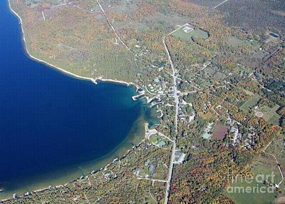 Photograph - E-020 Ellison Bay Fall Door County Wisconsin by Bill Lang