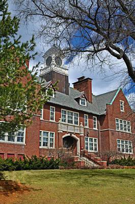 Photograph - E B Newton School  Building by Caroline Stella