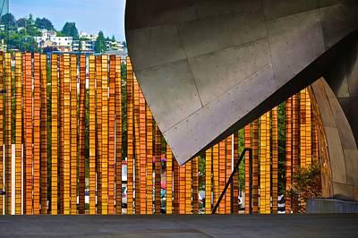 Photograph - E M P Museum Fence by Ricardo J Ruiz de Porras