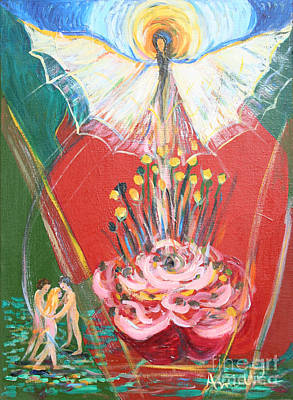 Liberation Painting - E R A 1974 by Avonelle Kelsey