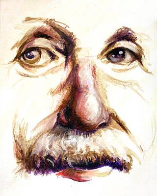 Albert Einstein Painting - E by Vanessa Bates