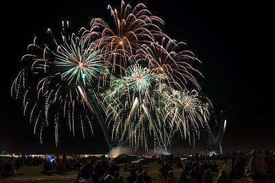 Photograph - Eaa Fireworks - 2013 by Bill Pevlor