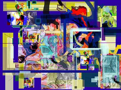 Inner Self Digital Art - Each Positive Step Is Vital 2 by David Baruch Wolk