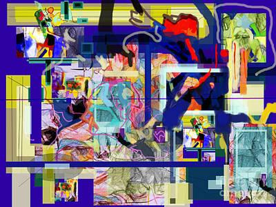 Inner Self Digital Art - Each Positive Step Is Vital 3 by David Baruch Wolk