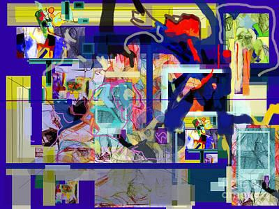 Inner Self Digital Art - Each Positive Step Is Vital 4 by David Baruch Wolk