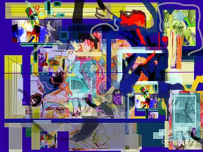 Inner Self Digital Art - Each Positive Step Is Vital 5 by David Baruch Wolk