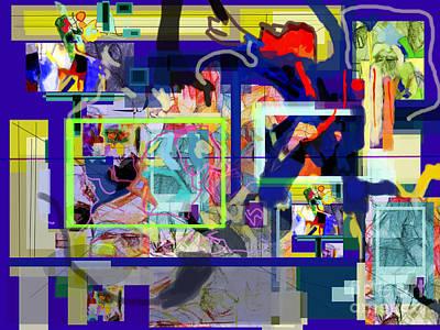 Inner Self Digital Art - Each Positive Step Is Vital 7 by David Baruch Wolk