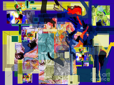 Inner Self Digital Art - Each Positive Step Is Vital by David Baruch Wolk