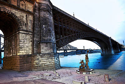 Eads Bridge 2 Art Print