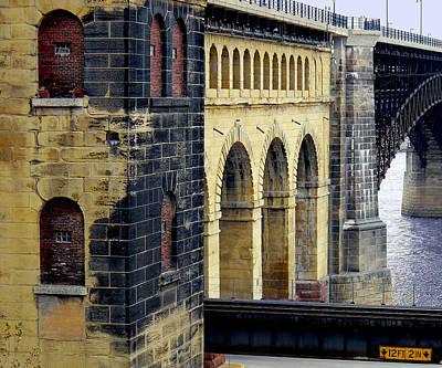 Redish Photograph - Eads Bridge by Wendy Raatz Photography